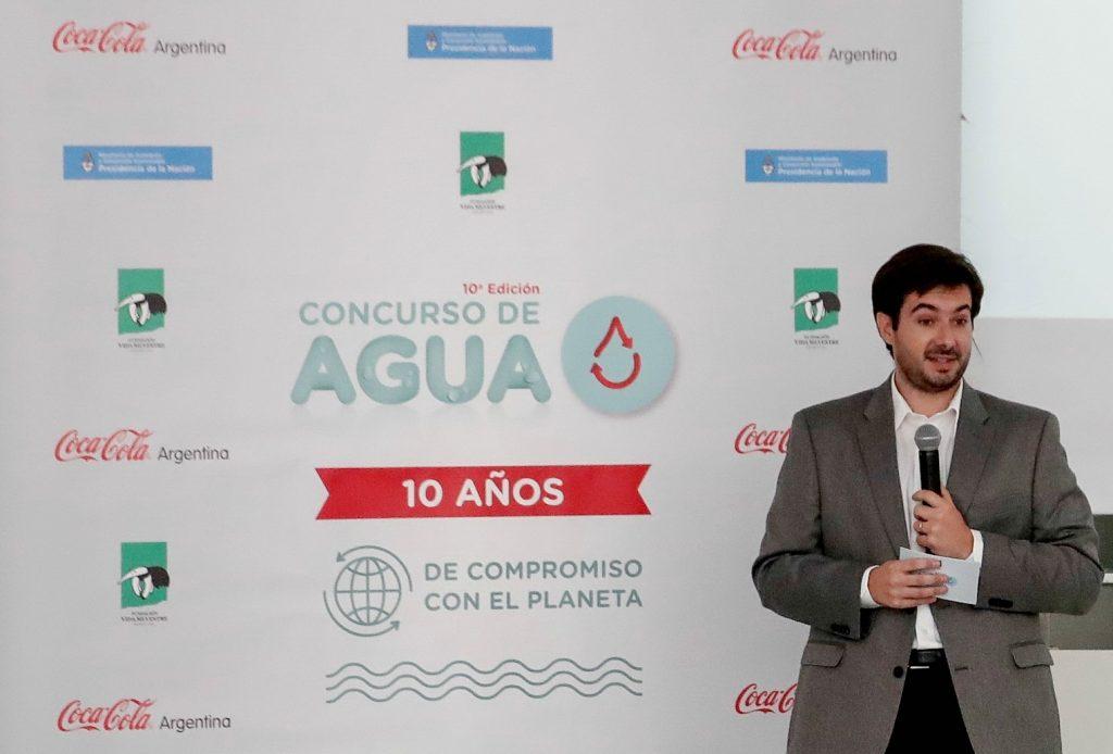 Cristian Pérez, Gerente de Asuntos Públicos de Coca-Cola de Argentina