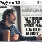 """""""El Estado será el motor después de la pandemia"""""""